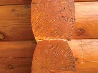 log ends