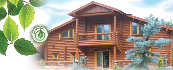 log home restoration log wash