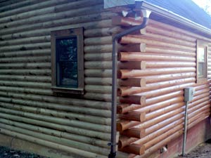 I Also Used Log End Seal For The Logs U0026 Woodsman For Caulk Touch Up. Our  Deck And Porch Floors Were Treated With Deck Defense, The Predecessor To  The New ...