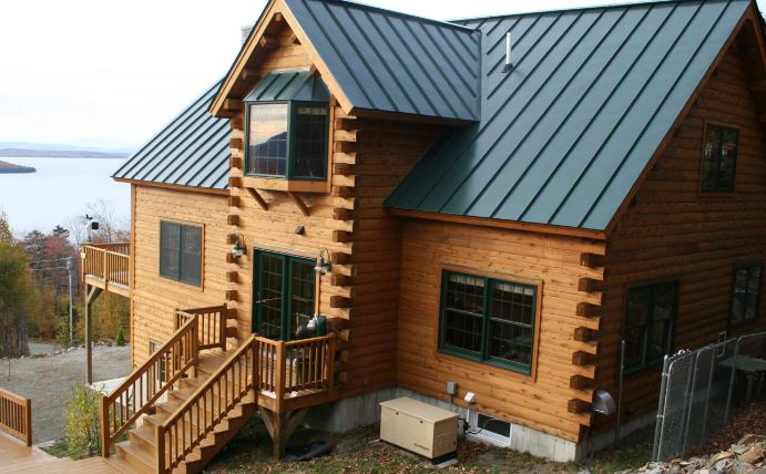 moose cedar log homes