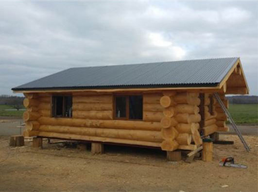 Mobile log cabins for Off site built homes