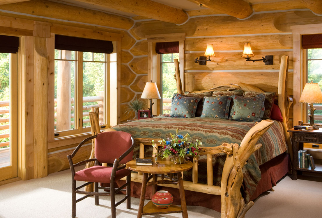 Log home interiors Images of home interior