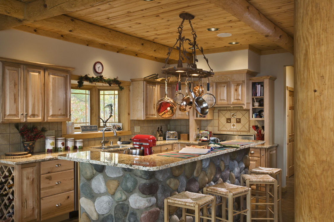 Log Home Kitchens - photo#12