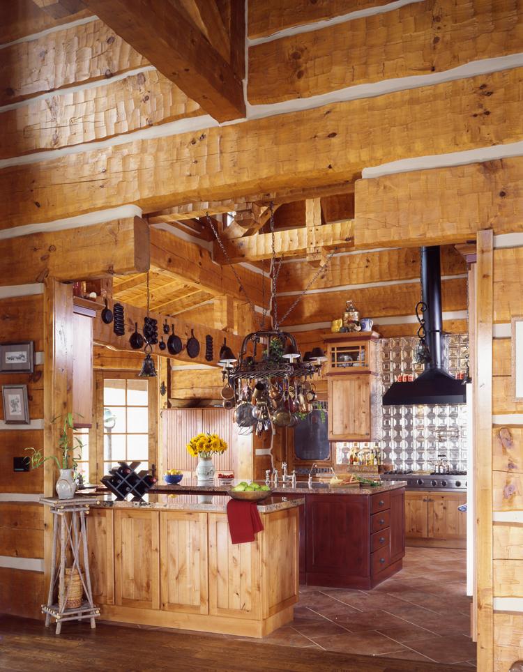 Log Home Kitchens