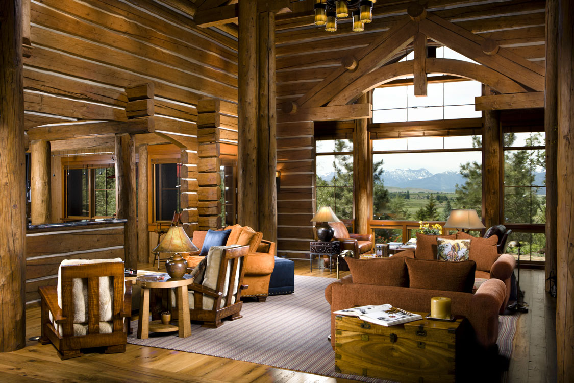 Log Home Living.