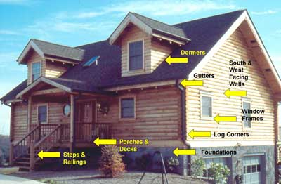 log home inspection