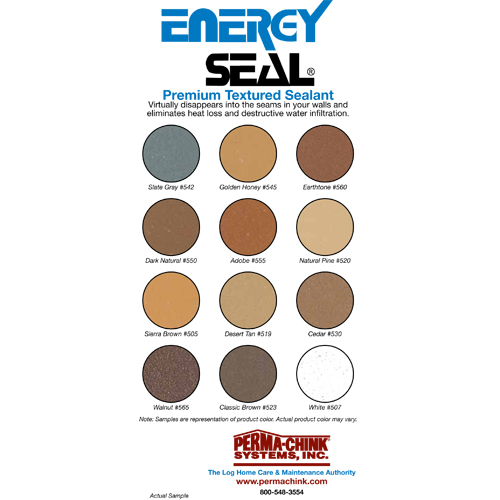 Energy Seal Color Card
