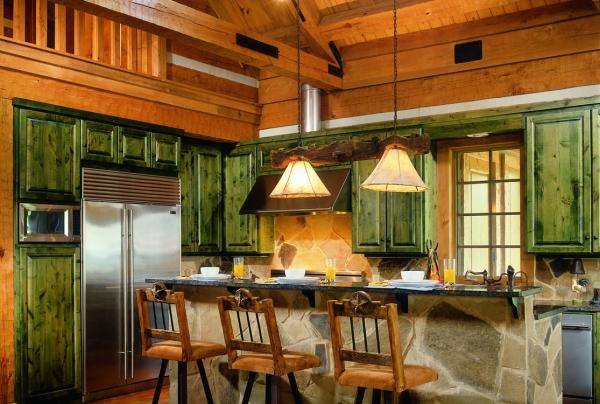 Log Home Kitchens Part 66