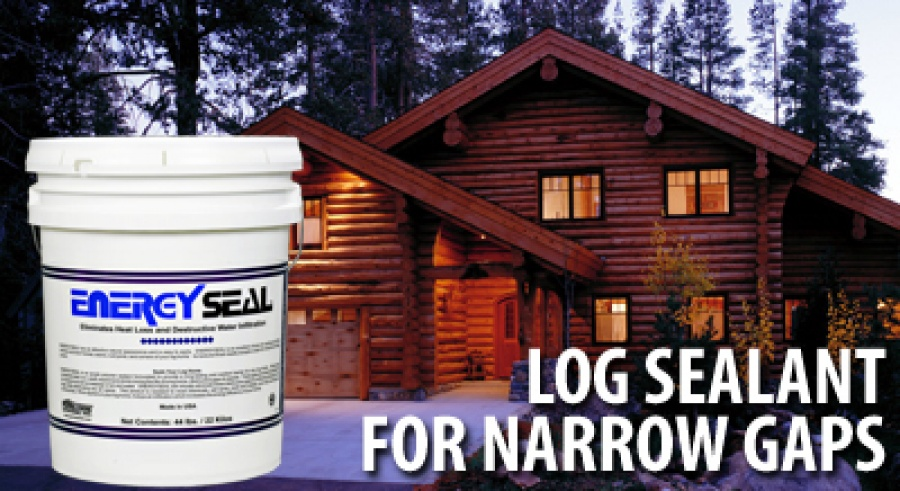 Energy Seal 174 Log Sealant Specialty Sealant For Log Homes