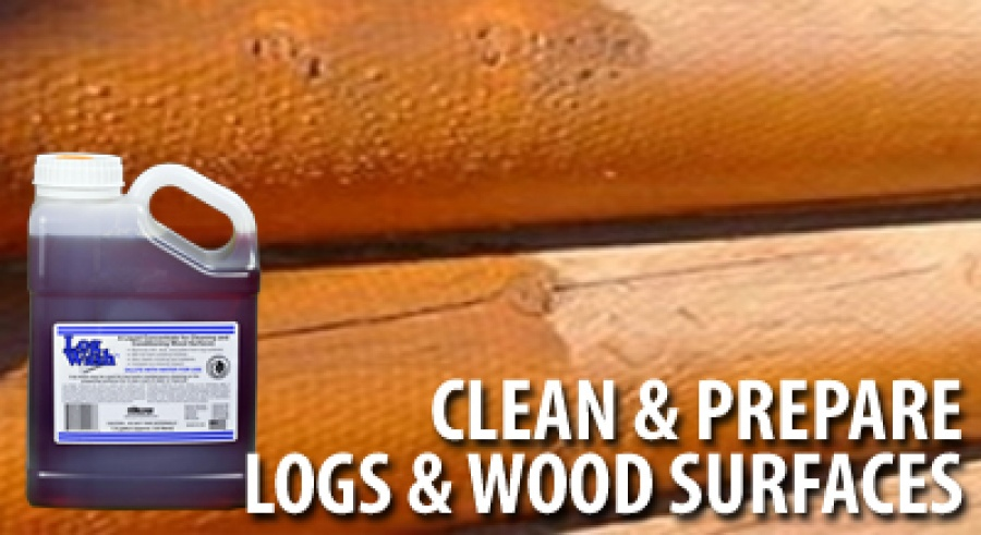 log wash wood cleaner